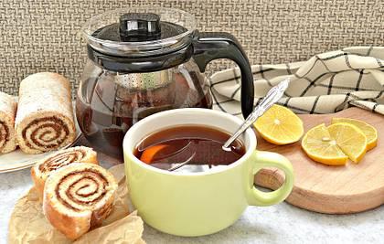 Чай с мятой и лимоном