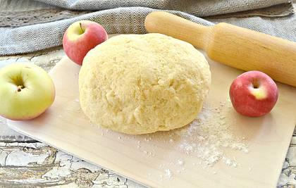 Песочное тесто со сметаной для пирогов